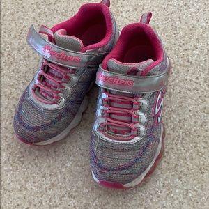 Kids Skechers Girls Shoes Size 11